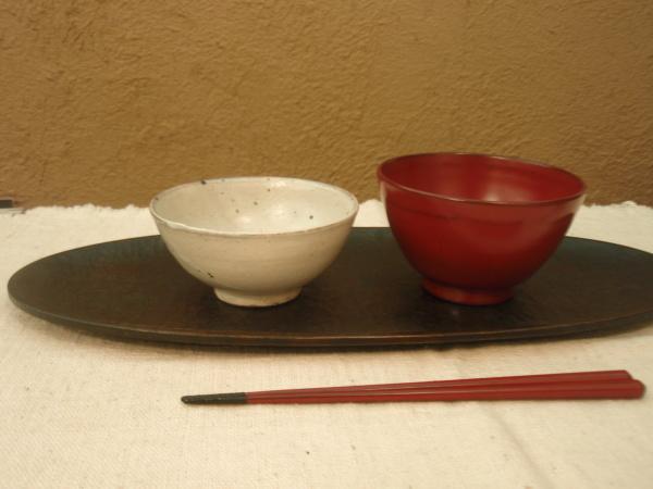 松平彩子さんのオーバル皿_b0132442_18244401.jpg