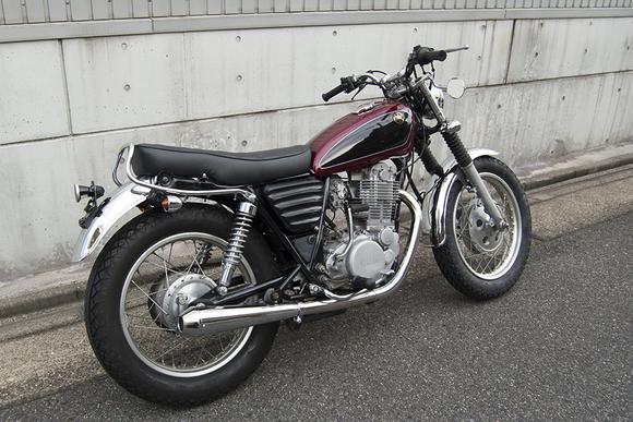 FOR SALE!!!  YAMAHA SR400 ライトカスタム車_e0182444_19464565.jpg