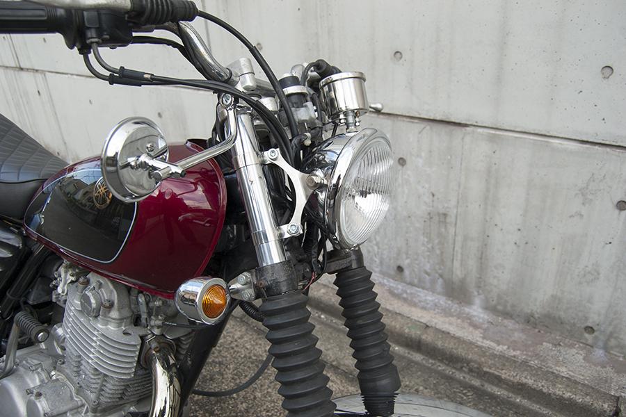 FOR SALE!!!  YAMAHA SR400 ライトカスタム車_e0182444_1947394.jpg