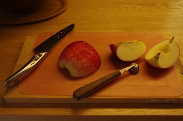 りんごジャムは豚肉料理に合うのです_c0341450_17443009.jpg