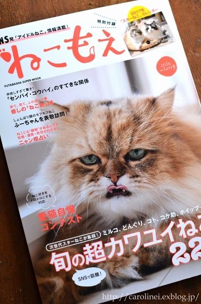 「ねこもえ」掲載のお知らせ  Cat Magazine Nekomoe Debut_d0025294_10053142.jpg