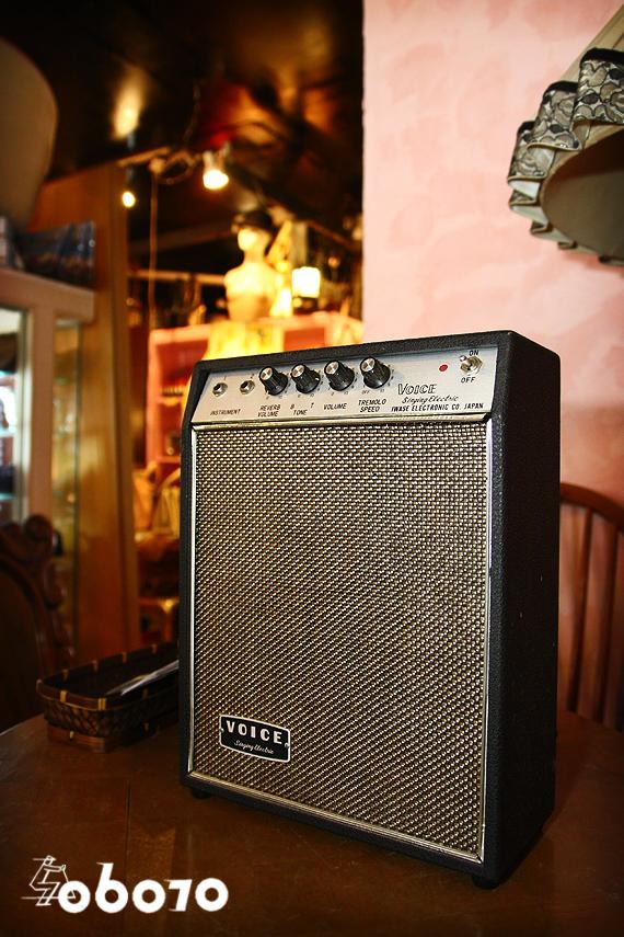 1970s Vintage Voice ソリッドステートギターアンプ 岩瀬電子 ボイス ビザール_e0243096_14335628.jpg