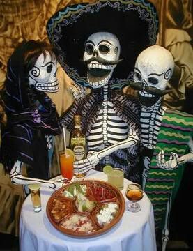 DIA DE LOS MUERTOS「死者の日」メキシコ_f0157505_13123053.jpg