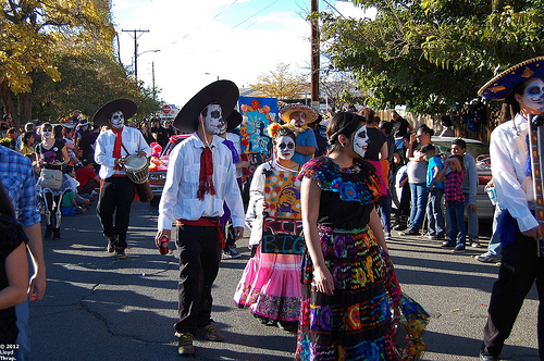 DIA DE LOS MUERTOS「死者の日」メキシコ_f0157505_13223027.jpg