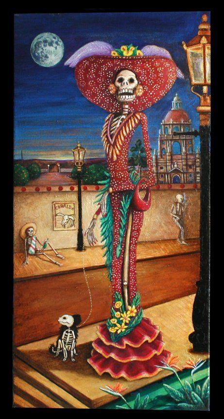 DIA DE LOS MUERTOS「死者の日」メキシコ_f0157505_1363082.jpg