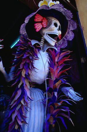 DIA DE LOS MUERTOS「死者の日」メキシコ_f0157505_137164.jpg