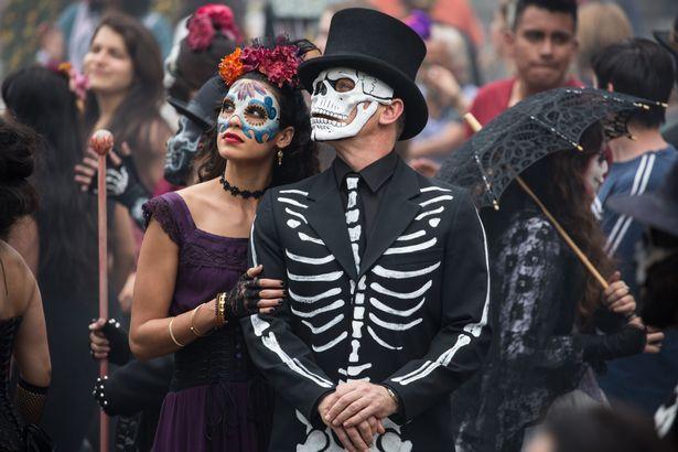 DIA DE LOS MUERTOS「死者の日」メキシコ_f0157505_1512157.jpg