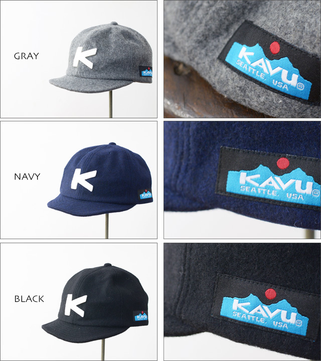 KAVU [カブー] WOOL BASEBALL CAP [19820318] MEN\'S/LADY\'S_f0051306_18115587.jpg