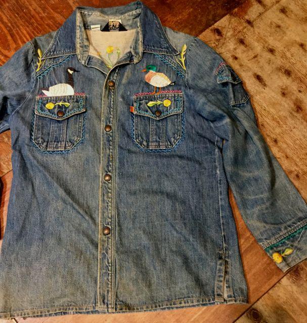 10/22(土)入荷商品!70s Levi\'s Denim shirts Jacket!_c0144020_14445628.jpg