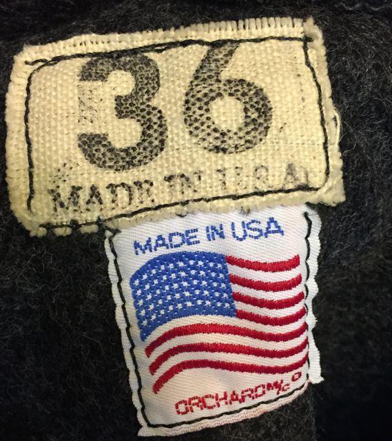 10/22(土)入荷商品! MADE IN U.S.A オーチャード カデット ジャケット!_c0144020_1513584.jpg