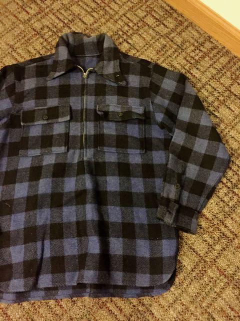 10/22(土)入荷商品!40s Unknown コの字ZIPPER wool pullover shirts!!_c0144020_15285398.jpg