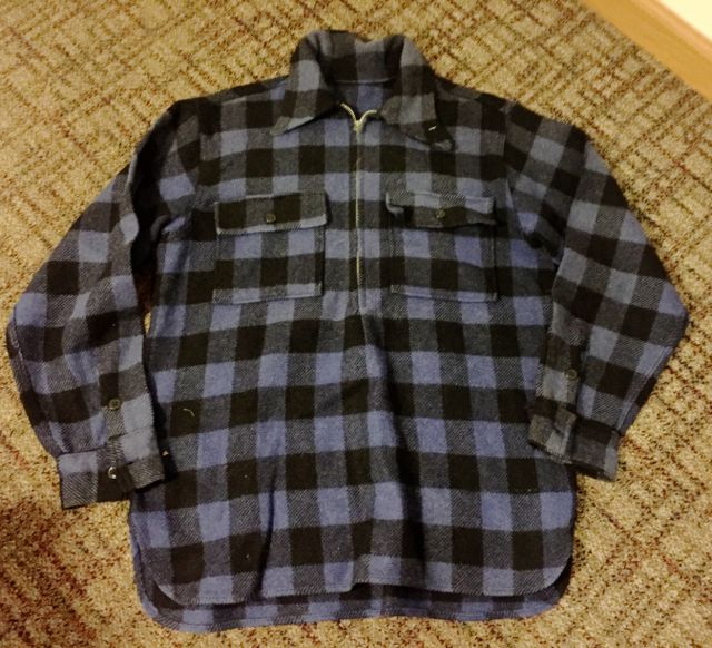 10/22(土)入荷商品!40s Unknown コの字ZIPPER wool pullover shirts!!_c0144020_15285435.jpg