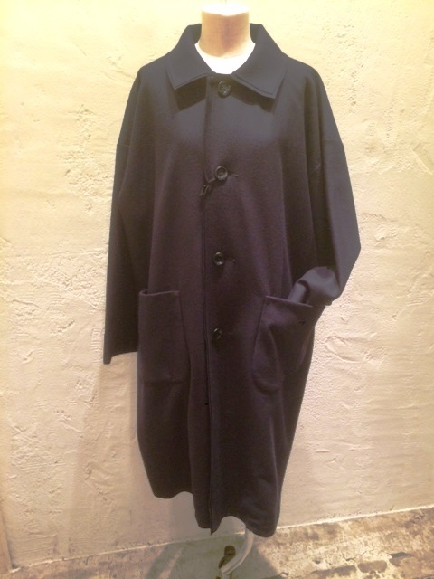 GRANDMA MAMA DAUGHTER Wool Stem collar coat_a0222424_18502183.jpeg