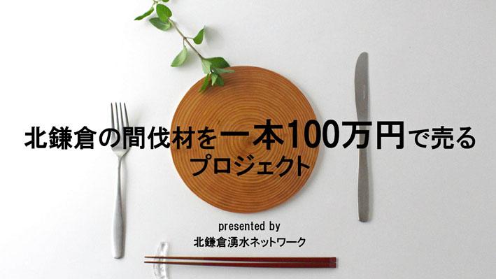 北鎌倉の間伐材を一本100万円で売るプロジェクト10・20_c0014967_19512967.jpg