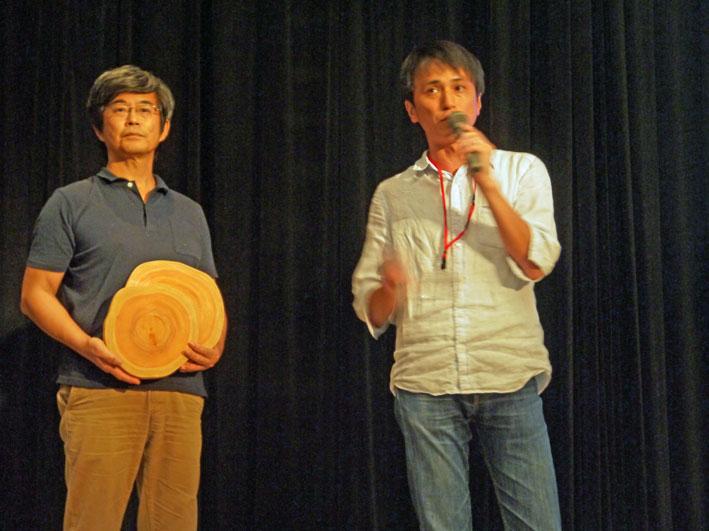 北鎌倉の間伐材を一本100万円で売るプロジェクト10・20_c0014967_1953595.jpg
