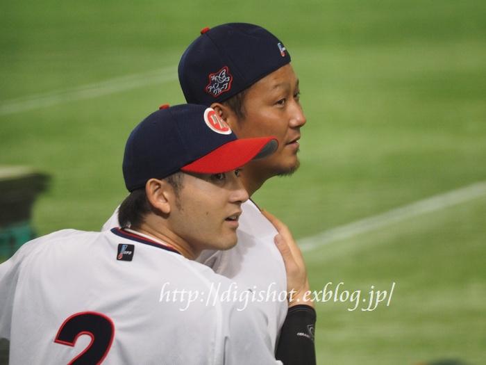 日本シリーズを前に、日本ハムファイターズ選手フォト@9/1東京ドーム_e0222575_200536.jpg