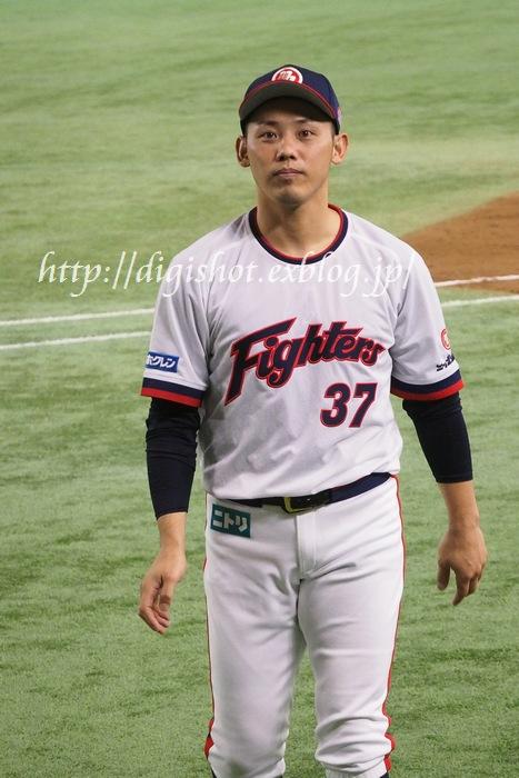 日本シリーズを前に、日本ハムファイターズ選手フォト@9/1東京ドーム_e0222575_20275630.jpg