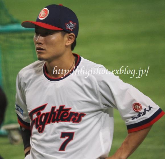日本シリーズを前に、日本ハムファイターズ選手フォト@9/1東京ドーム_e0222575_204126.jpg