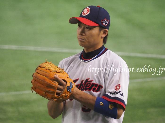 日本シリーズを前に、日本ハムファイターズ選手フォト@9/1東京ドーム_e0222575_2071226.jpg