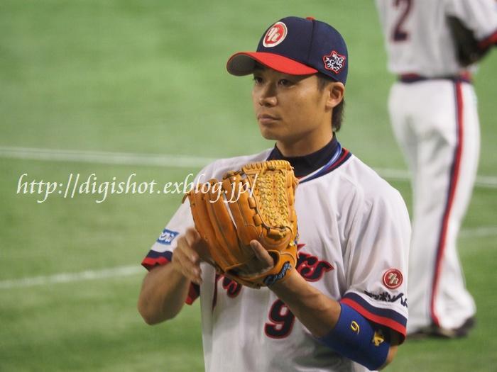 日本シリーズを前に、日本ハムファイターズ選手フォト@9/1東京ドーム_e0222575_2072283.jpg