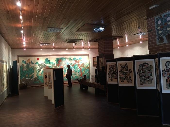 ソウルから大邱へ。韓国のおいしい味と美術作家さんたちに会いに。その3 テンプルステイ&民画作家さんのアトリエへ_a0223786_16253646.jpg
