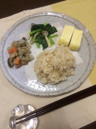 小松菜としめじの炒め物_d0235108_07103215.jpg