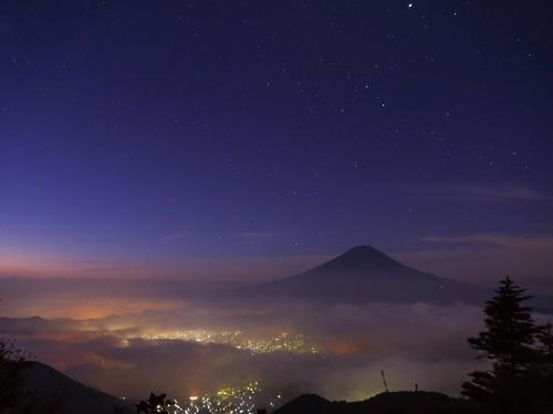 2016.10.22新道峠からの早朝の風景_e0321032_2315813.jpg