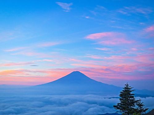 2016.10.22新道峠からの早朝の風景_e0321032_23164594.jpg
