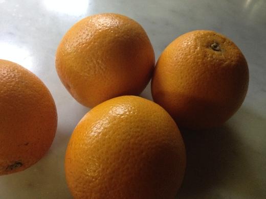 オレンジソースの肉料理_a0136671_1493513.jpg