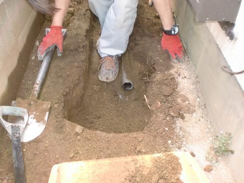 雨水配管改修工事_e0190287_17542046.jpg