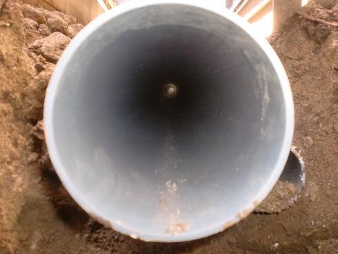 雨水配管改修工事_e0190287_18102390.jpg