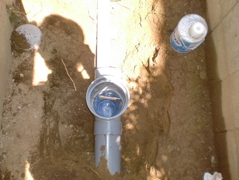 雨水配管改修工事_e0190287_186767.jpg