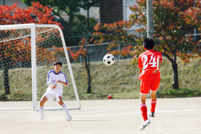 【U-13&14】TRAINING MATCH:vs 青葉FC & 東向陽台中 October 22, 2016_c0365198_22254002.jpg