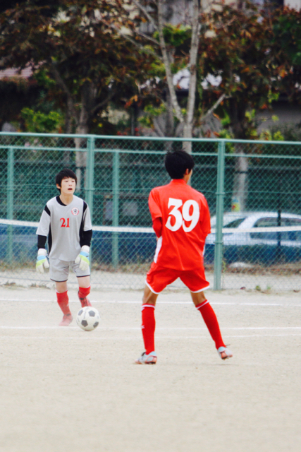 【U-13&14】TRAINING MATCH:vs 青葉FC & 東向陽台中 October 22, 2016_c0365198_22255037.jpg