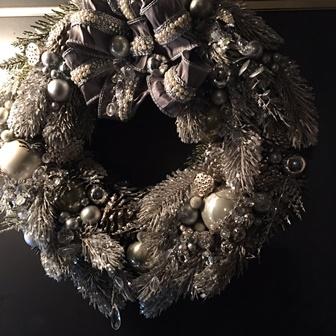 2016/11/30-12/5 「温もり繋ぐクリスマス」 - 柳 庸子 (カントリーローズ) -_e0091712_20575144.jpg
