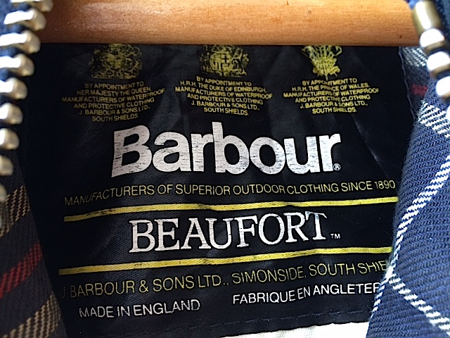 Barbour BEAUFORT_f0203050_1436150.jpg