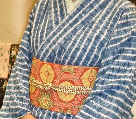 サローネ・絞りの着物・5-9着物・きもので集う園遊会。_f0181251_2053417.jpg