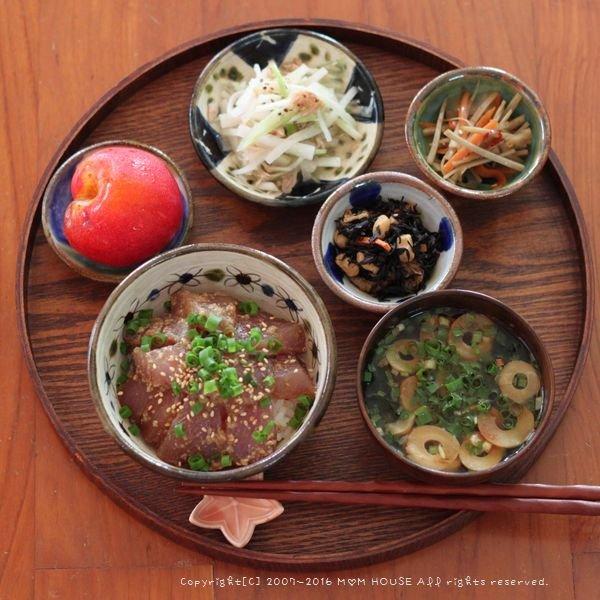 今週の作りおき ✿ まぐろの漬け丼♪_c0139375_16365248.jpg