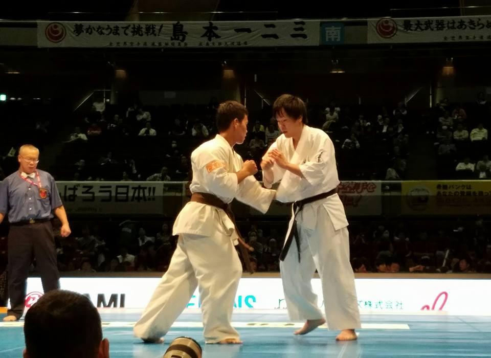 「第48回全日本空手道選手権大会」二日間 東京体育館が熱く燃えます。「日本一は誰か⁉」_c0186691_16453029.jpg