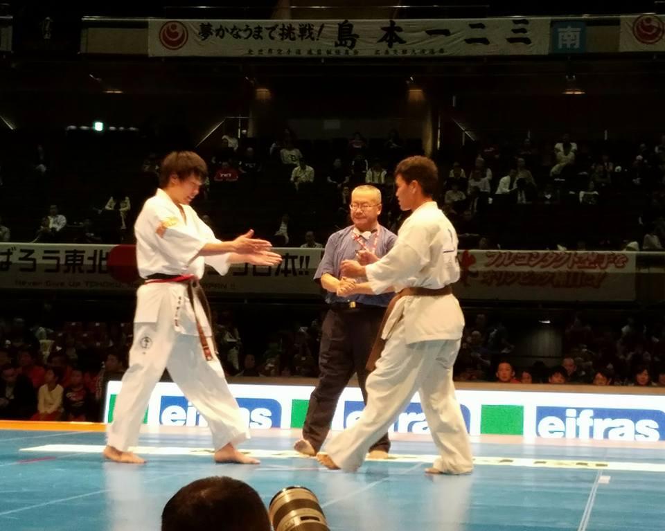 「第48回全日本空手道選手権大会」二日間 東京体育館が熱く燃えます。「日本一は誰か⁉」_c0186691_1645344.jpg