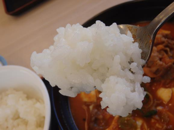 松屋の豆腐キムチチゲ膳     門真店_c0118393_1155792.jpg