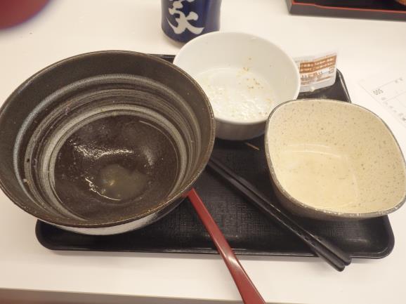 吉野家のコモサラセット  天神橋六丁目店_c0118393_9554743.jpg