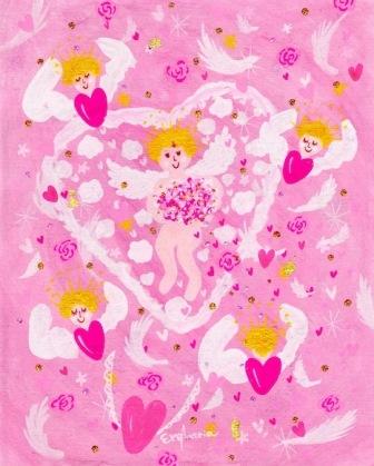 2016/12/21-26 エレマリア*エンジェルアート展 *Universal Blessing*「マリアの祈りと宇宙の祝福」 _e0091712_5564980.jpg