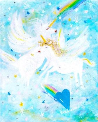 2016/12/21-26 エレマリア*エンジェルアート展 *Universal Blessing*「マリアの祈りと宇宙の祝福」 _e0091712_5573279.jpg