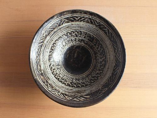 福永芳治さんの三島、長石釉、白釉のうつわ。_a0026127_13445606.jpg