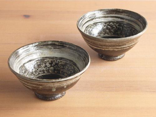 福永芳治さんの三島、長石釉、白釉のうつわ。_a0026127_13462707.jpg