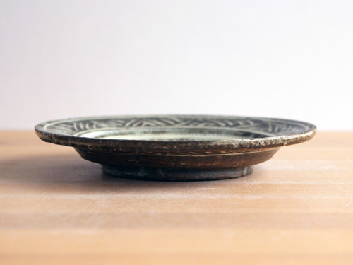 福永芳治さんの三島、長石釉、白釉のうつわ。_a0026127_13482526.jpg