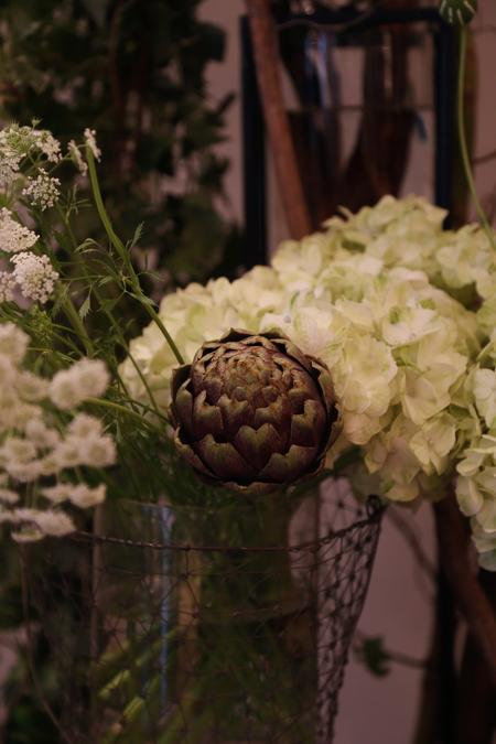 秋の装花 高砂ソファと緑のアーチ 天王洲アイルSOHOLM(スーホルム)様へ_a0042928_1259260.jpg