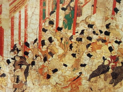 したたかな庶民の誕生 「伴大納言絵巻」@長谷川宏「日本精神史」その19_e0016828_10403875.jpg