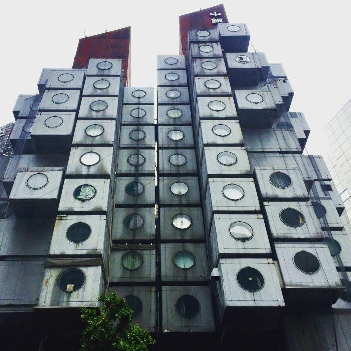 中銀カプセルタワー / iPhone 6_c0334533_00130215.jpg